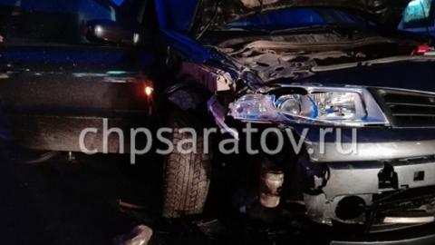 Два человека пострадали в аварии в центре Саратова