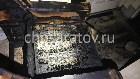 В горящей пятиэтажке на Студеной погиб мужчина