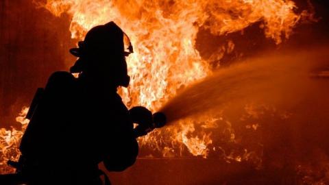В Питерском районе на пожаре погиб мужчина