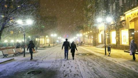 Саратовцам обещают снег и до девяти градусов мороза