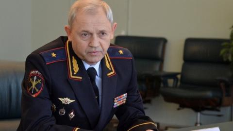 Нового начальника ГУ МВД области Николая Трифонова представили губернатору Валерию Радаеву