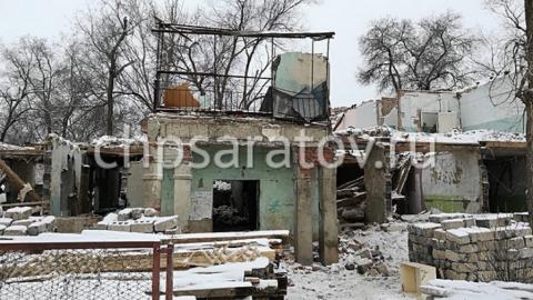 Рабочий погиб при демонтаже дома под Энгельсом