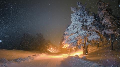 Саратовцам обещают снег и до 13 градусов мороза