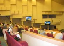 Ерохина объяснила причины задержки заседания думы
