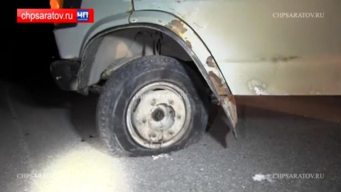 Опубликовано видео полицейской погони со стрельбой в Энгельсе