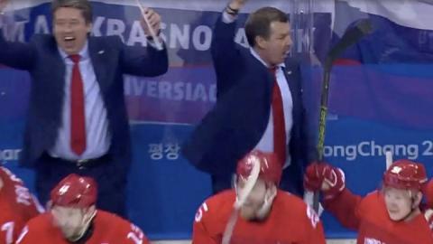 """Российские хоккеисты выиграли """"золото"""" Олимпиады в Пхенчхане"""