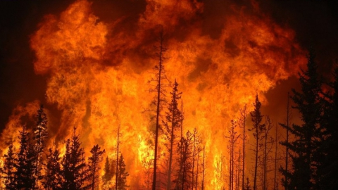 Под Балаково пенсионерка погибла на пожаре в частном доме
