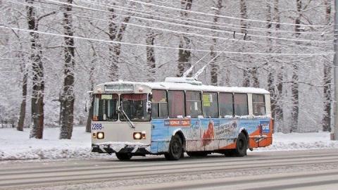 В Саратове троллейбус №3 сбил женщину