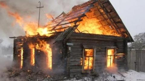 На пожаре в Красноармейске погиб мужчина