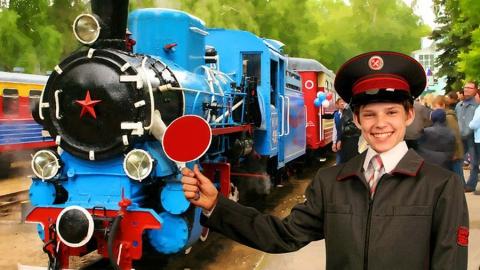 В Парке Победы Саратова появится детская железная дорога