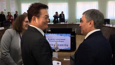 Володин пообещал показать Саратов делегатам из Южной Кореи