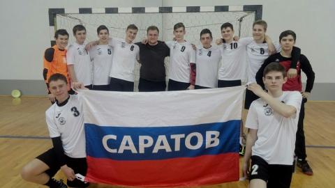 Саратовские гандболисты успешно завершили полуфинальную стадию первенства России среди юношей