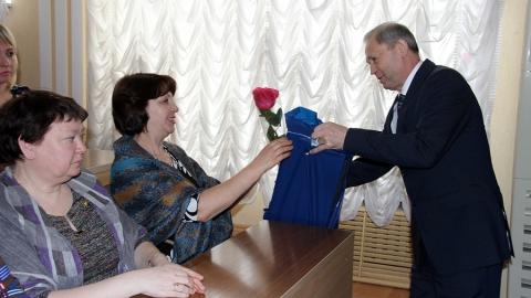 В полиции поздравили с 8 марта матерей и жен погибших героев