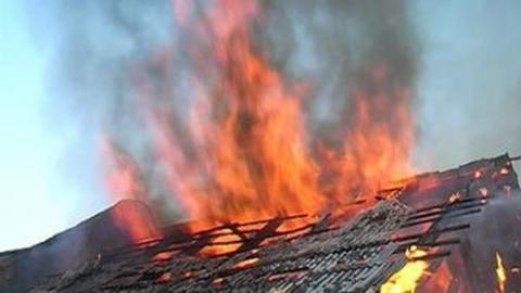 В селе Ключи в пожаре погиб мужчина