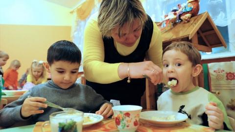 В детском саду Ершовского района готовили еду из некачественных круп