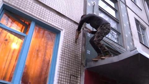 Рецидивист украл телевизор у находящегося в командировке соседа