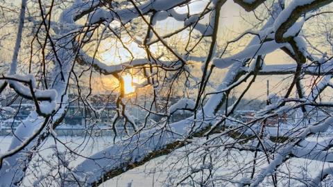 В Левобережье ночные морозы достигнут 28 градусов