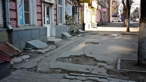 На ремонт тротуаров Саратову требуется 1,9 миллиарда