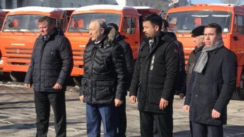 """Саратов получил 50 машин в рамках подписанного на форуме соглашения с """"КамАЗом"""""""