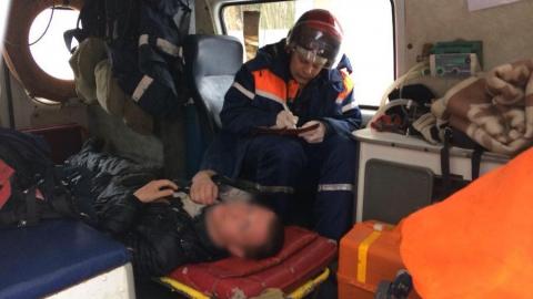 На проспекте 50 лет Октября альпинист упал с крыши во время ее очистки