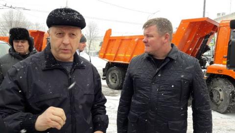 Валерий Радаев объявил выговоры четырем сотрудникам правительства за плохую уборку снега