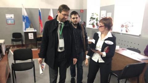 Наблюдатель из Словакии не заметил нарушений на избирательном участке в Саратове