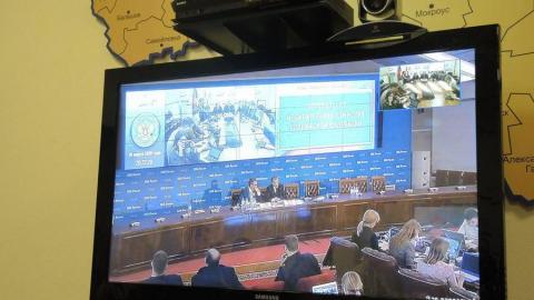 Саратовская избирательная комиссия отчиталась перед ЦИКом о президентских выборах