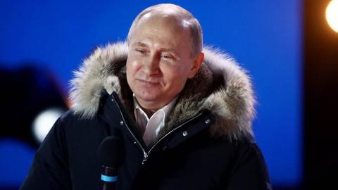 На выборах в Саратовской области Владимир Путин набрал 78,33 процента голосов