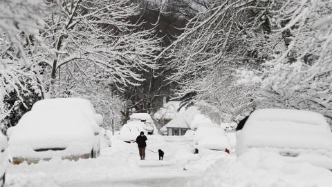 Саратовцев предупреждают о сильном снеге