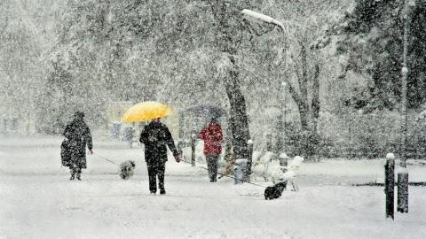 Сегодня в регионе ожидается морозная погода со снегопадом