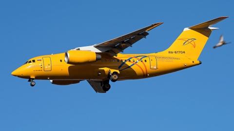 Ространснадзор рекомендовал приостановить полеты самолетов Ан-148