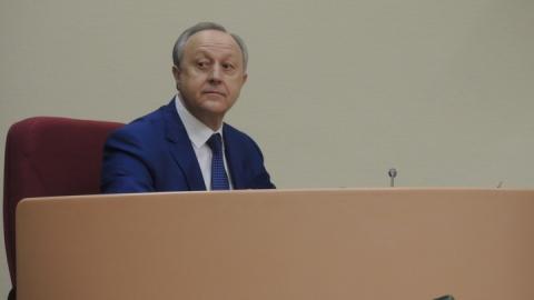Валерий Радаев находится в Москве на рабочей встрече
