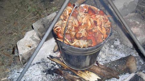 За ловлю раков в реке Дюра рыбаку грозит два года