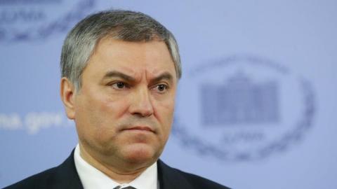 Володин выразил соболезнования близким погибших на пожаре в кемеровском ТЦ