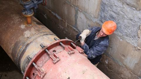 Потребители Фрунзенского и Кировского районов переведены на резервную схему теплоснабжения
