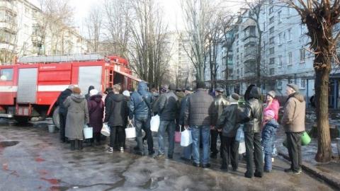 Жители семи улиц Ленинского района остались без воды