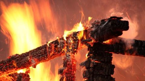 На Заречной и Танкистов горели частные дома