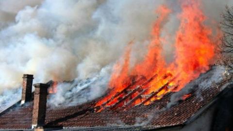 Пожар в частном доме унес жизнь пенсионера