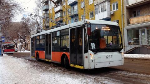 Из-за работ на теплотрассе сегодня не будет ходить троллейбус второго маршрута