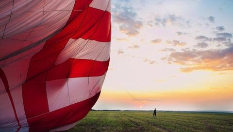 """""""Лавка чудес"""" открывает сезон полетов на воздушном шаре"""