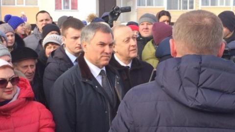 Володин решил вопрос с финансированием строительства школы в Солнечном-2