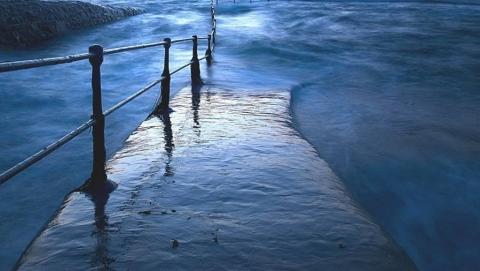 В Лысогорском районе затопило еще один мост
