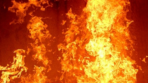 На Тульской горел подвал пятиэтажного дома