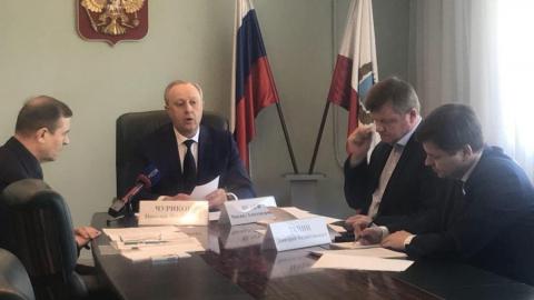 Валерий Радаев поручил до майских праздников улучшить состояние дорог