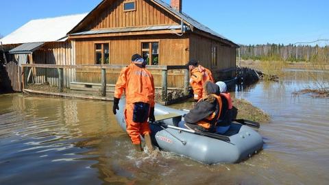 Паводок. В области затоплено 12 низководных мостов