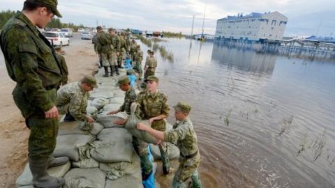 Военные ЦВО готовы к ликвидации последствий половодья в Поволжье