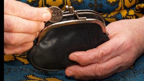 Безработный украл кошелек у пенсионерки