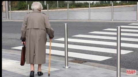 Водитель Nissan Teana сбил 89-летнюю женщину на пешеходном переходе