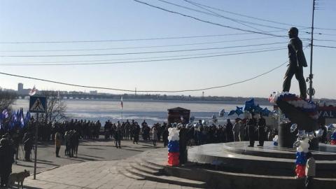 Митинг на День космонавтики посетили около тысячи саратовцев