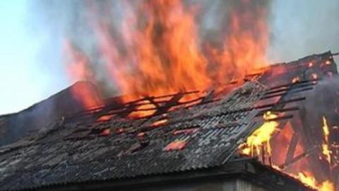 В Аткарском районе на пожаре погибла женщина